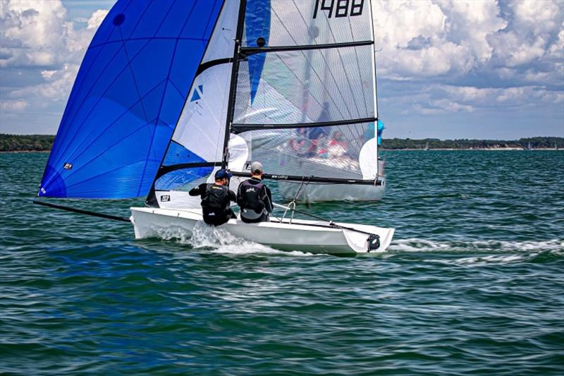 RS400 Summer Championship 2019 at Lymington Town Sailing Club photo copyright Sportography taken at Lymington Town Sailing Club and featuring the RS400 class