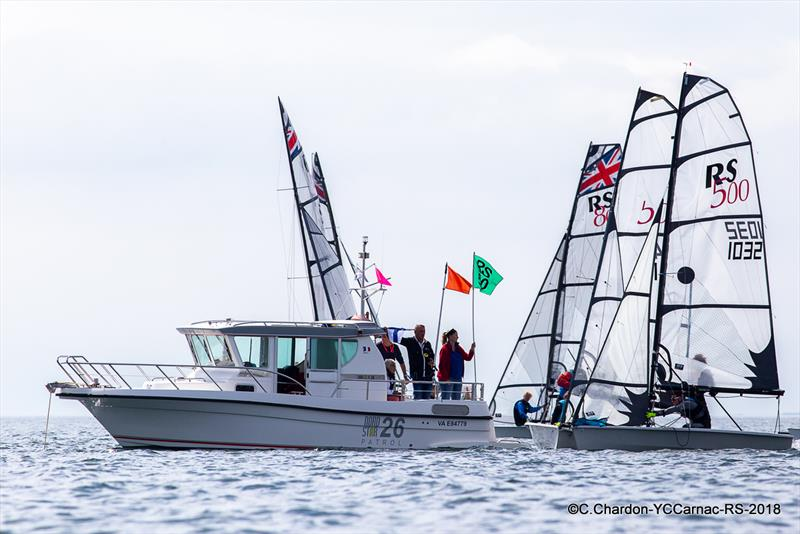 RS500 fleet - 2018 Eurocup, YC Carnac - photo © Christian Chandon