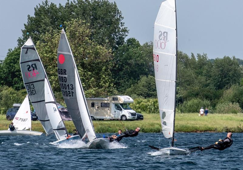 Wind & sunshine for the Notts County SC Spring Regatta - photo © David Eberlin