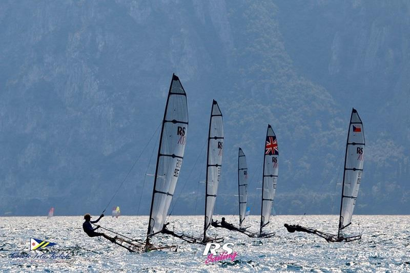 RS700 European Championship at Lake Garda - Day 3 photo copyright Elena Giolai taken at  and featuring the RS700 class