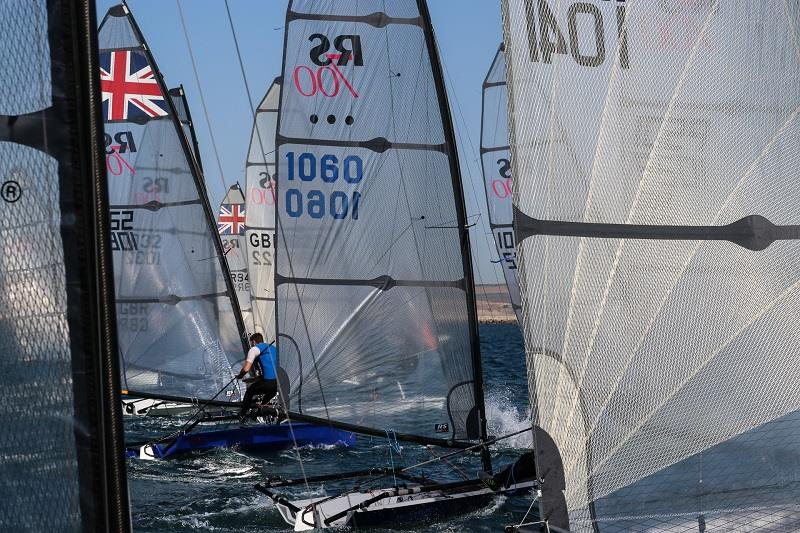 RS700 Volvo Noble Marine National Championship final day - photo © RS Sailing