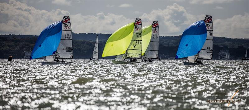 RS700 and RS800 Volvo Noble Marine Nationals at Stokes Bay day 2 - photo © Alex & David Irwin / www.sportography.tv