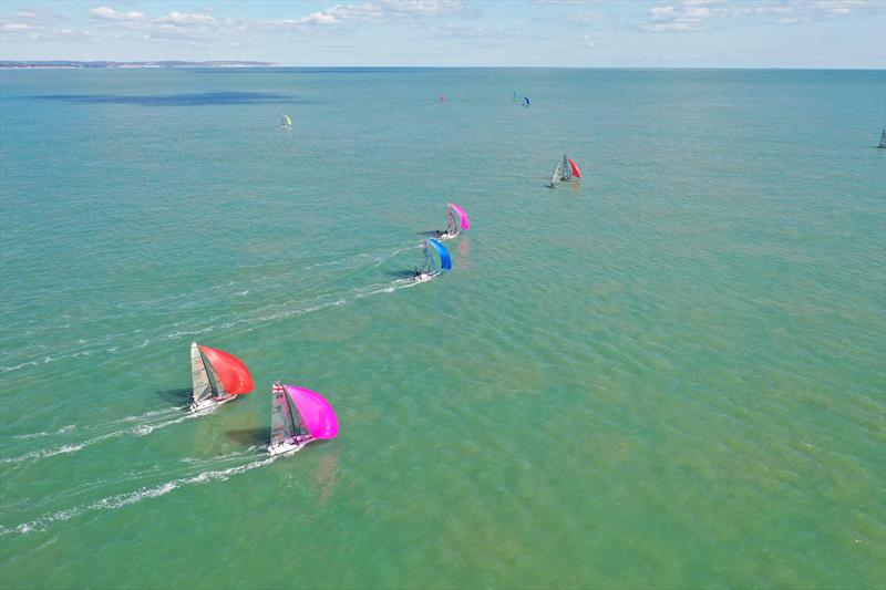 Volvo Noble Marine RS800 Nationals at Eastbourne day 1 - photo © ESSC