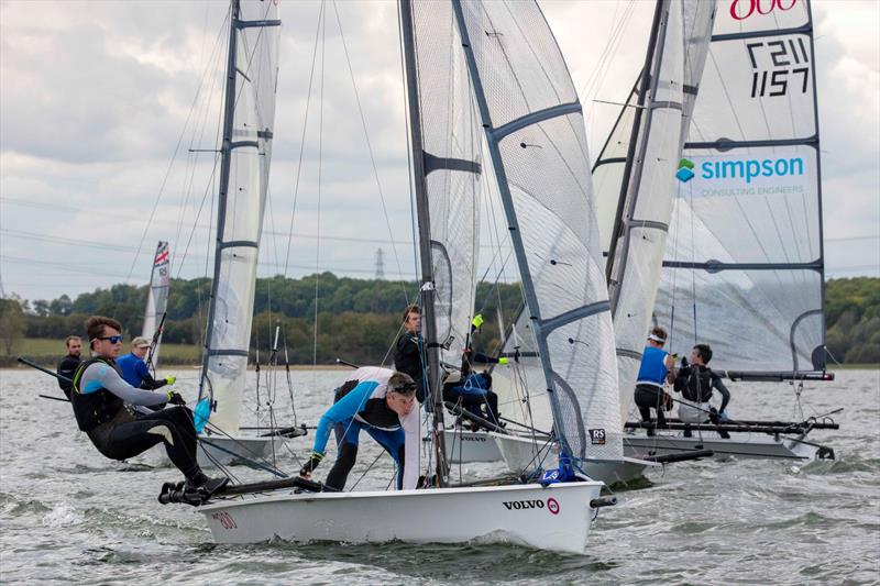 Harken RS200, RS400 and RS800 Inlands at Grafham water - photo © Tim Olin / www.olinphoto.co.uk