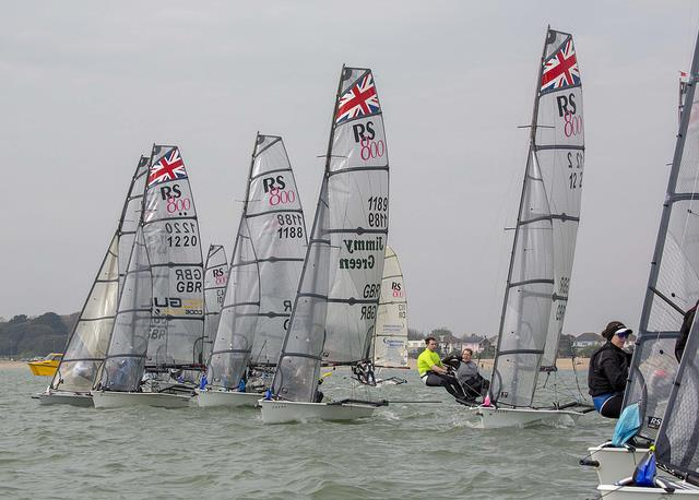 RS800 Sprint Championship 2018 - photo © Tim Olin / www.olinphoto.co.uk