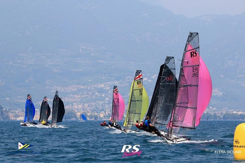 RS800 European Championship at Lake Garda - Day 3 - photo © Elena Giolai