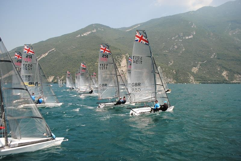 RS800 European Championship at Lake Garda - Day 3 - photo © Emma Grayson