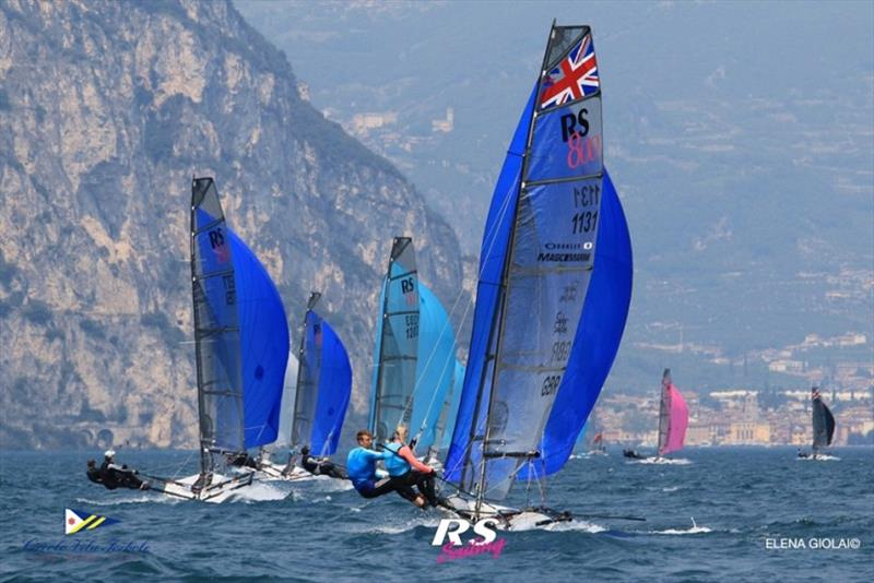 RS800s racing on Lake Garda photo copyright Elena Giolai taken at  and featuring the RS800 class