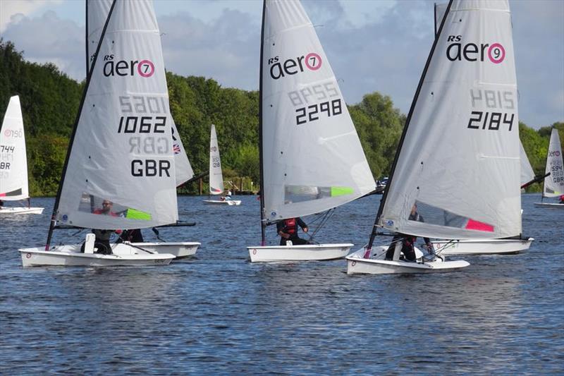Rs Aero Uk River Championship At Nottingham Sailing Club