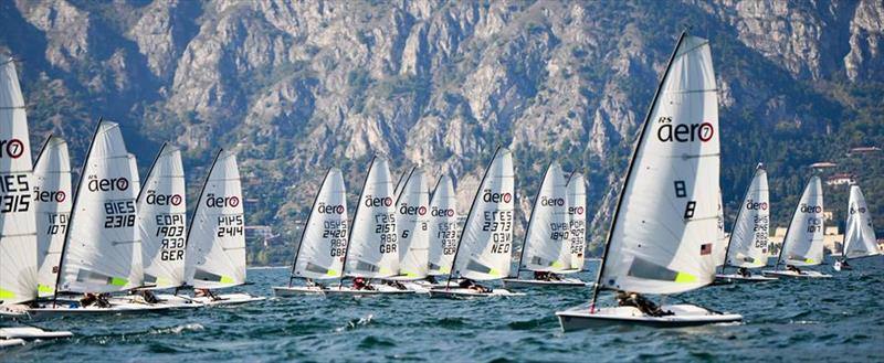 RS Aerocup at Malcesine, Lake Garda day 2 - photo © Thomas Reuhl