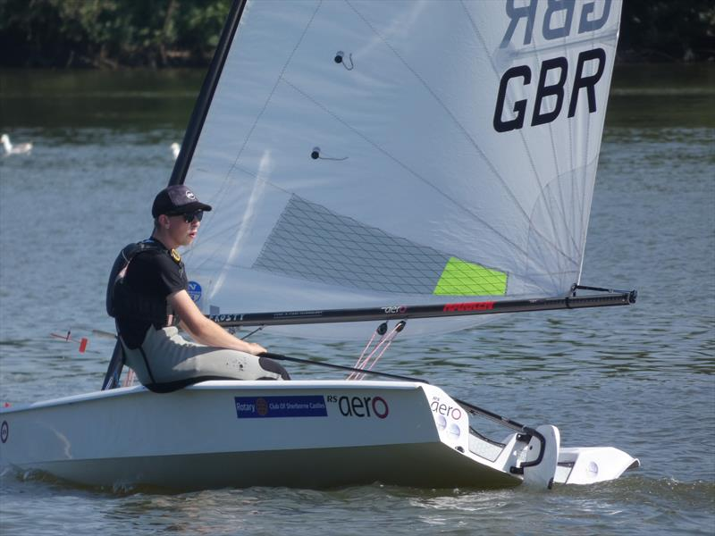 Andrew Frost, 7 Rig winner in the CoastWatersports RS Aero Open at Sutton Bingham - photo © Andrea Hatton