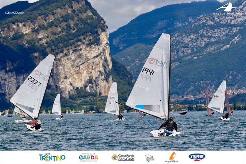 RS Aeros at Lake Garda photo copyright Elena Giolai / Circolo Vela Arco taken at Circolo Vela Arco and featuring the RS Aero class