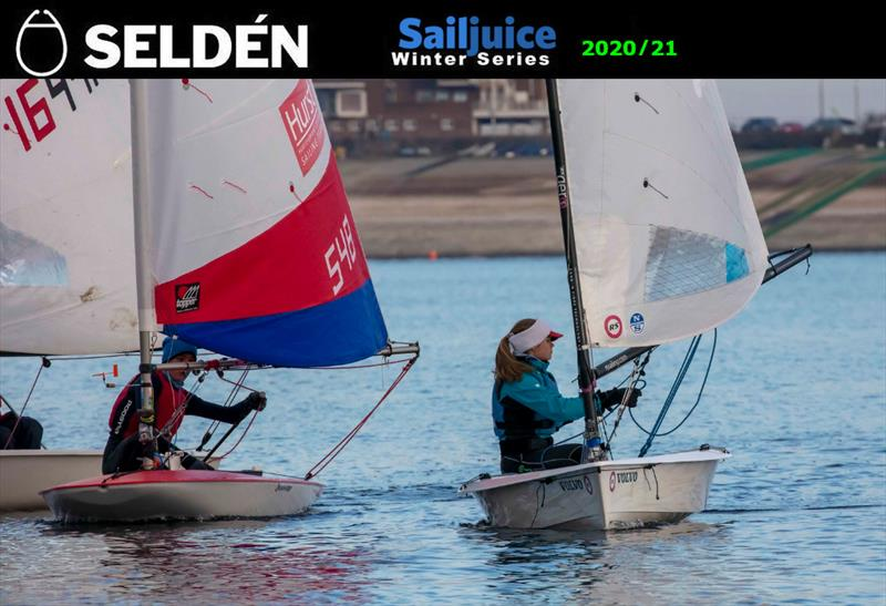 The Datchet Flyer - Seldén SailJuice Winter Series opener photo copyright Tim Olin / www.olinphoto.co.uk taken at Datchet Water Sailing Club and featuring the RS Aero class