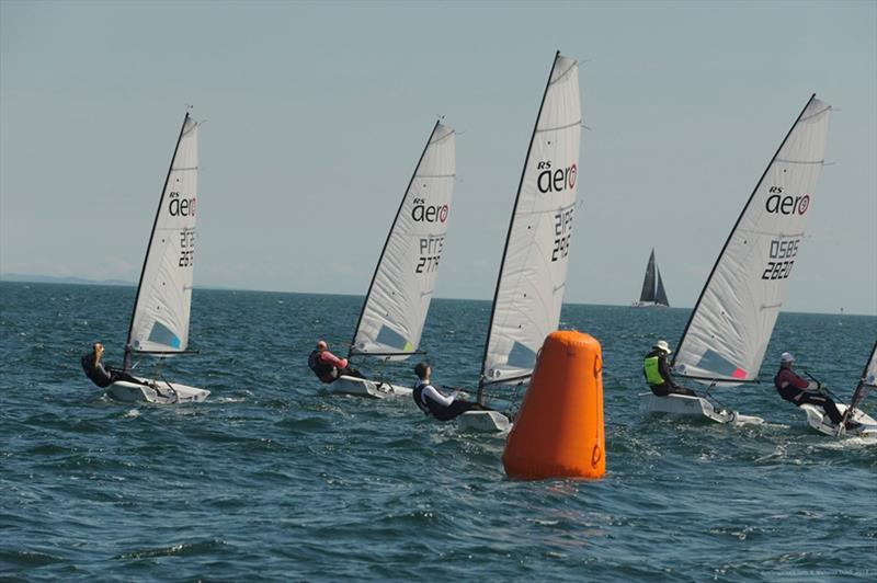 RS Aeros at Sail Sandy photo copyright Nicholas Duell taken at Sandringham Yacht Club and featuring the RS Aero class