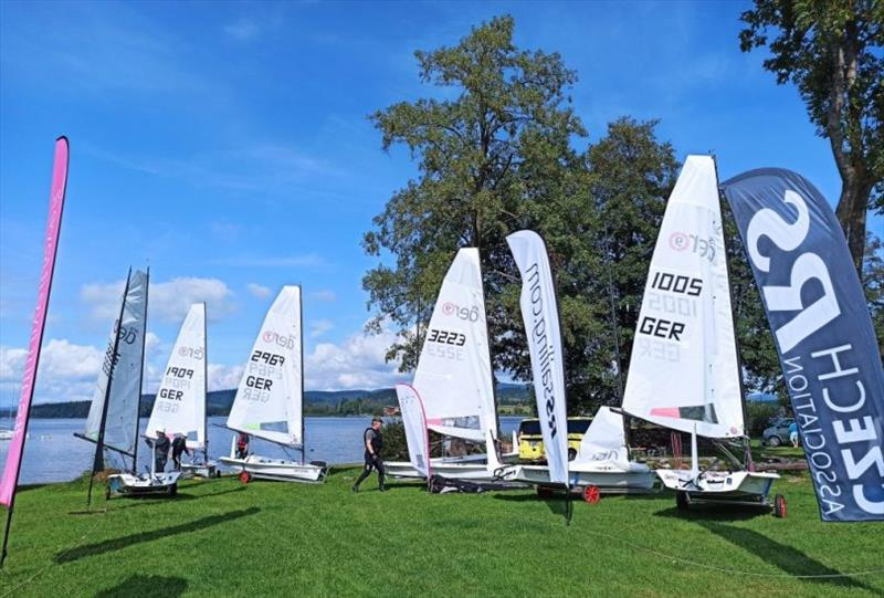 Czech RS Aero Cup at Lake Lipno - photo © Jorn Domres