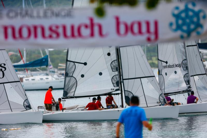 Nonsuch Bay RS Elite Challenge on Presidente Lay Day at Antigua Sailing Week - photo © Paul Wyeth / www.pwpictures.com