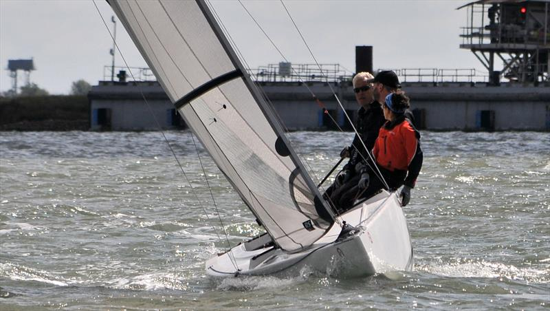Paul Fisk's Legs eleven at Burnham Week photo copyright Alan Hanna taken at Royal Corinthian Yacht Club, Burnham and featuring the RS Elite class