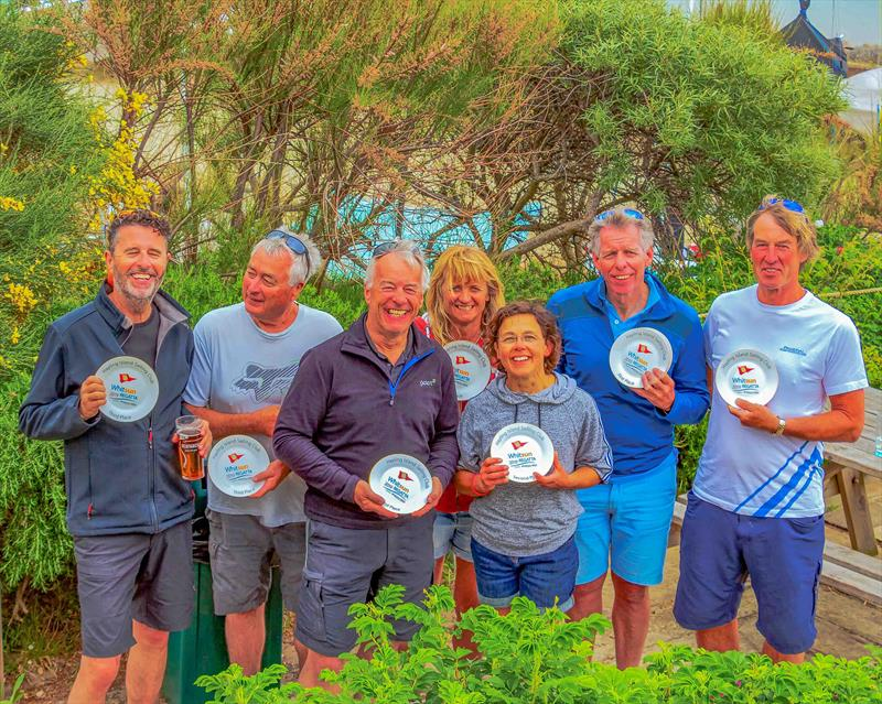 RS Elite Prizewinners among the Greenery at Hayling Island Sailing Club during the Whitsun Regatta - photo © Alasdair McLeod