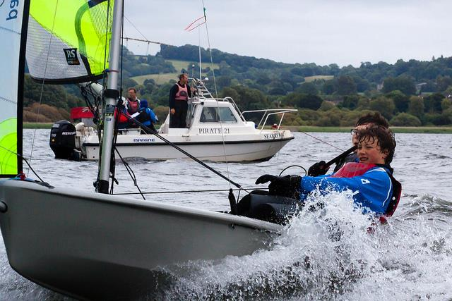 Tokio Marine HCC RS Feva Inlands at Chew Valley Lake - photo © Andy Hook