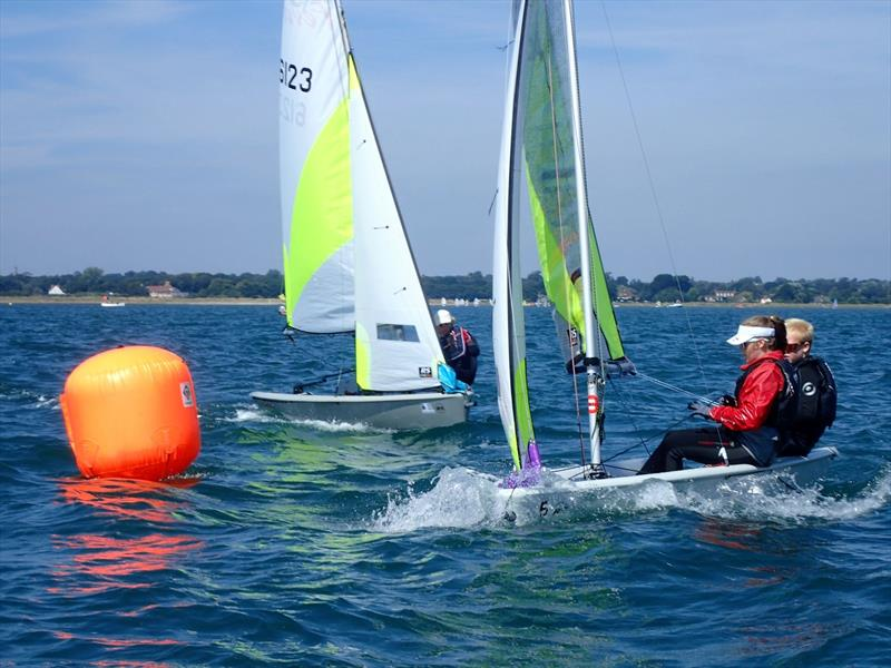 Looking forward to the Royal Lymington Yacht Club Junior Regatta - photo © RLymYC