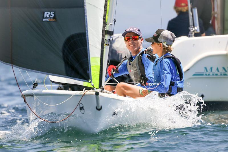 Day 5 of the 2019 RS Feva World Championships, Follonica Bay, Italy - photo © Digital Sailing / www.digitalsailing.co.uk