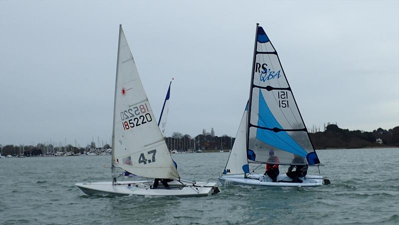 Last race in the Chichester Yacht Club Snowflake Series 2017/2018 - photo © CYC