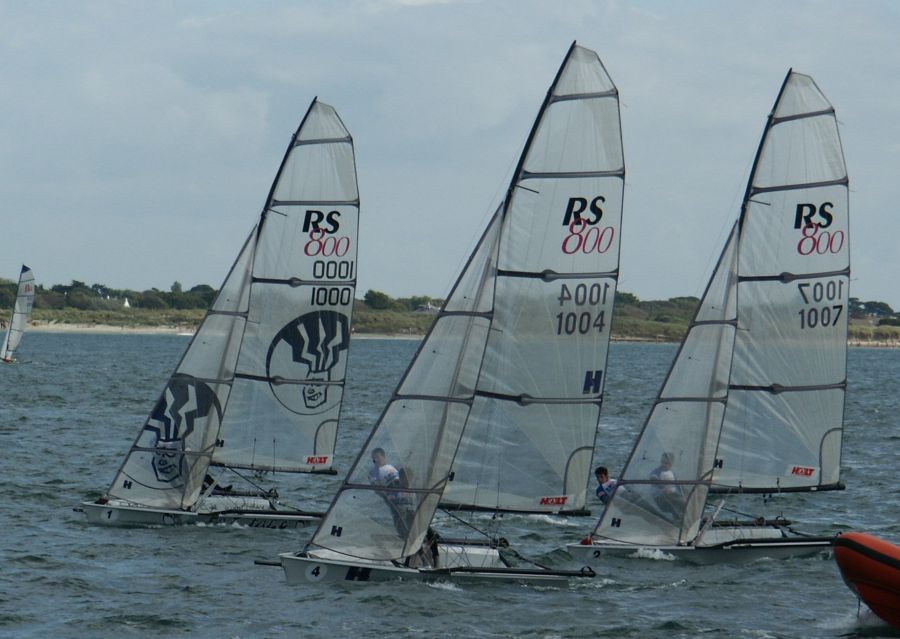 The leaders in the RS800 fleet at the Red Bull Tide Ride - photo © Julie Davies