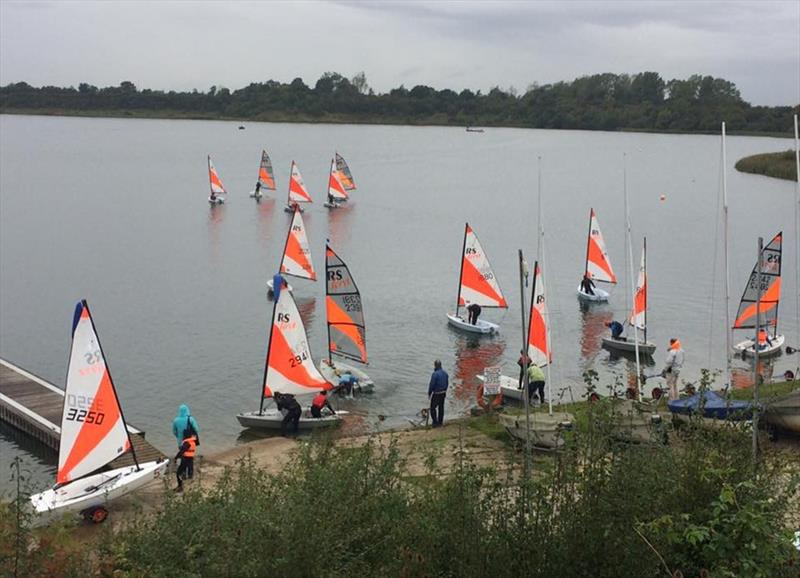 RS Teras at Great Moor photo copyright Emily Davis taken at Great Moor Sailing Club and featuring the RS Tera class