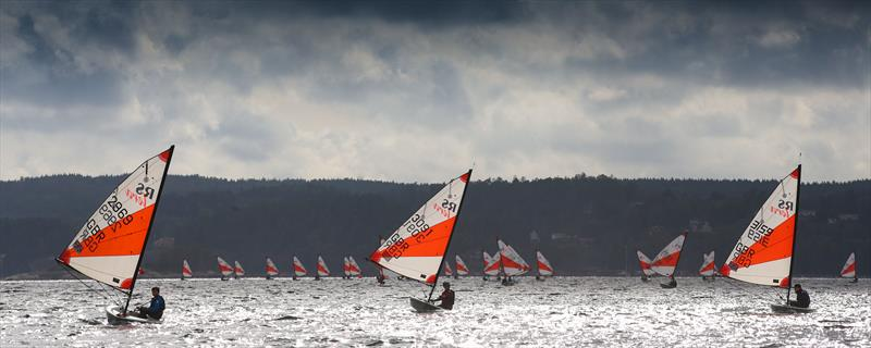 1st, 2nd & 3rd Sports during race 5 on RS Tera World Challenge Trophy in Sweden day 2 - photo © Giles Smith