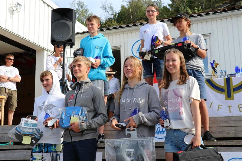 Pro Rig winners at the RS Tera World Challenge Trophy in Sweden photo copyright Lee Timothy taken at Ljungskile Segelsällskap and featuring the RS Tera class