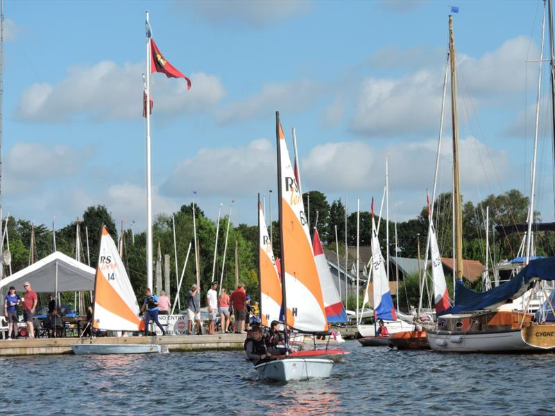 Horning Sailing Club Regatta Week - photo © Holly Hancock