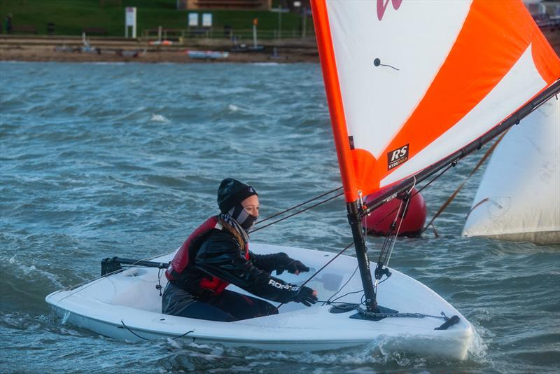 Matilda Moore, 1st Girl at the Isle of Wight Tera Championships - photo © Patrick Condy