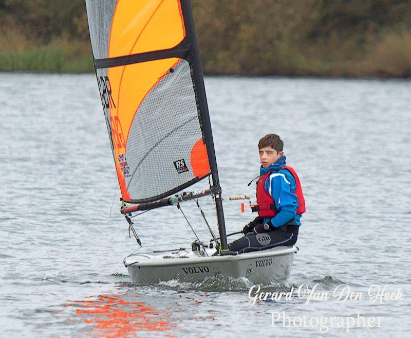 Nat Pritchard-Jones is first junior in the Guy Fawkes Pursuit Race at Leigh & Lowton  - photo © Gerard van den Hoek