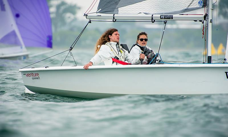 RS Venture - Day 3 - Para Sailing World Championship, Sheboygan, Wisconsin, USA.  - photo © Cate Brown