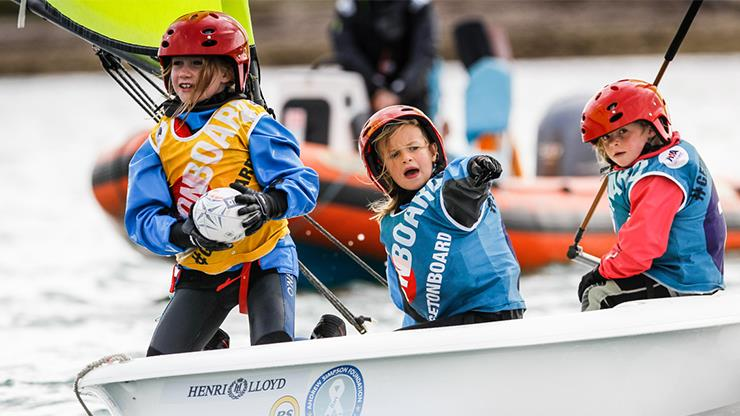 It's all about having fun! - photo © RYA