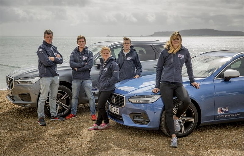 British Sailing Team and Volvo Car UK photo copyright onEdition taken at  and featuring the  class