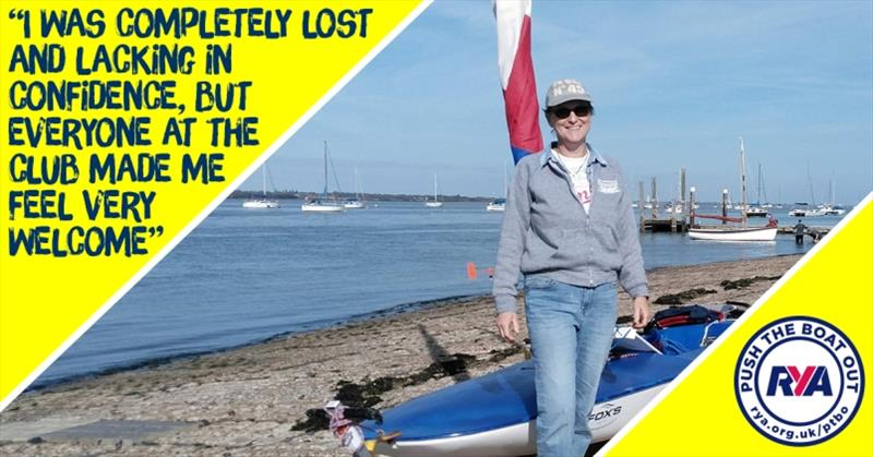 Karen Corley - RYA Push the Boat Out - photo © RYA