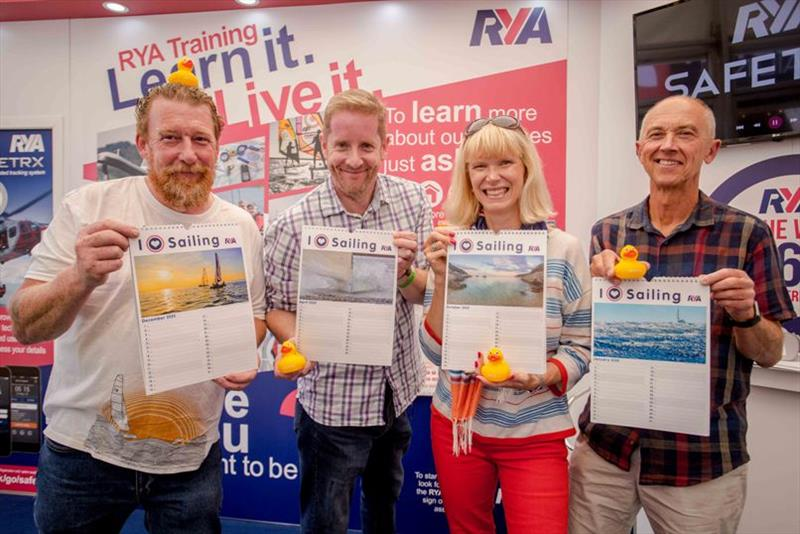 Winners of ilovesailing calendar competition - photo © Emily Whiting