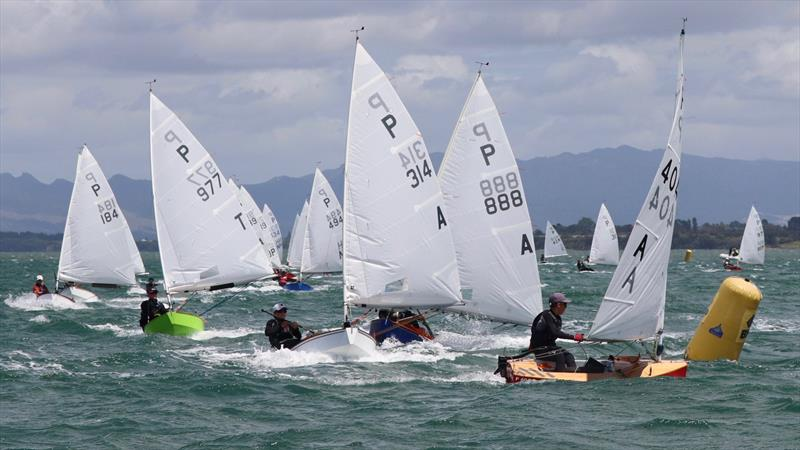 In the 2003 Louis Vuitton Cup over a third of the race days were lost after a 19kt wind limit was set . P class racing in the Tauranga Cup 2020 - photo © William Beauchamp