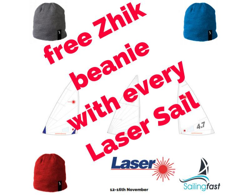Free Zhik neanie with every Laser sail at Sailingfast - 12-16 November 2018 - photo © Sailingfast