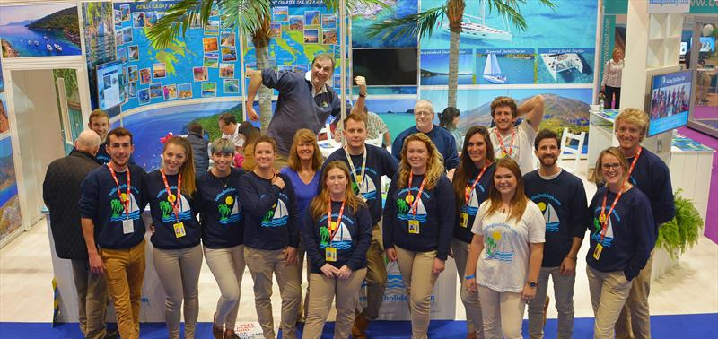 The Sailing Holidays Boat Show Team - photo © Sailing Holidays