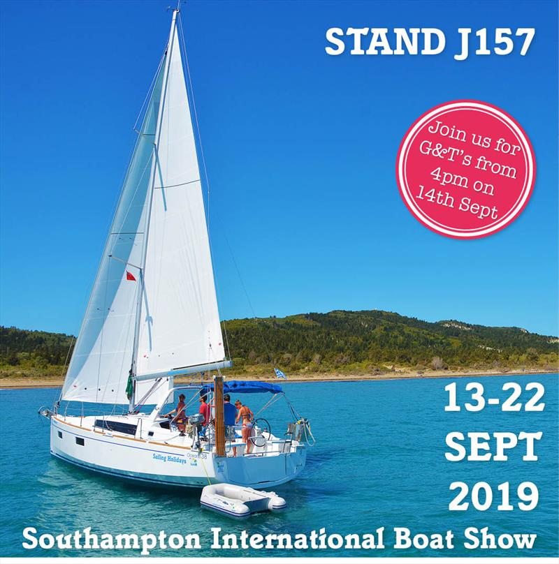 Visit Sailing Holidays at the Southampton International Boat Show - photo © Sailing Holidays