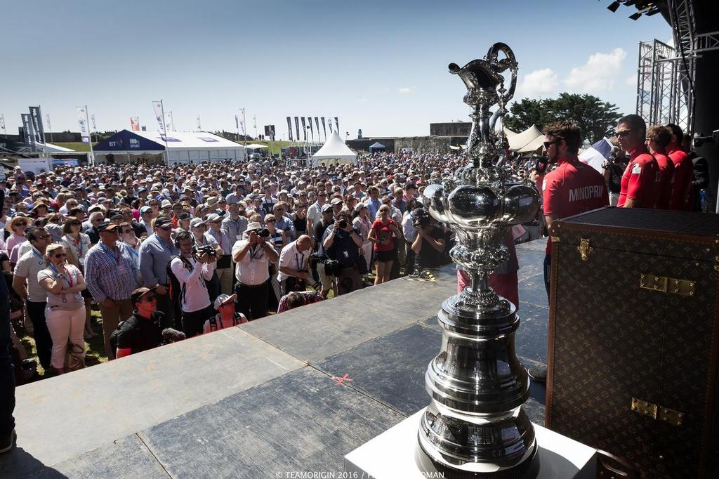 - Louis Vuitton America's Cup World Series Portsmouth, July 22-24, 2016 - photo ©  Ian Roman