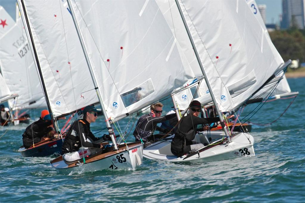 Starling National Championships - Final Day - Wakatere Boating Club. April 18, 2017 - photo © Richard Gladwell www.photosport.co.nz