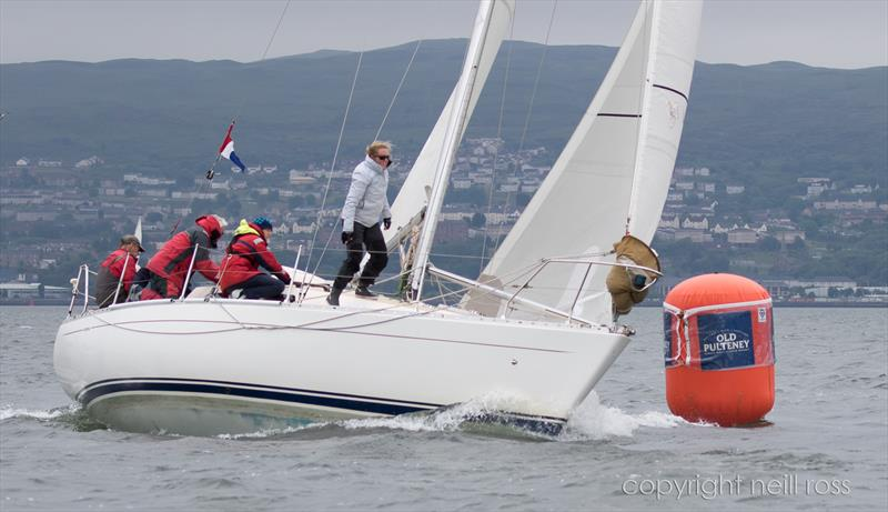 Sigmatic on day 1 of the Old Pulteney Mudhook Regatta - photo © Neill Ross