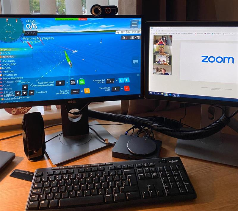 Sigma 33 Virtual Regatta Championship photo copyright Ben Jacobs taken at  and featuring the Sigma 33 class