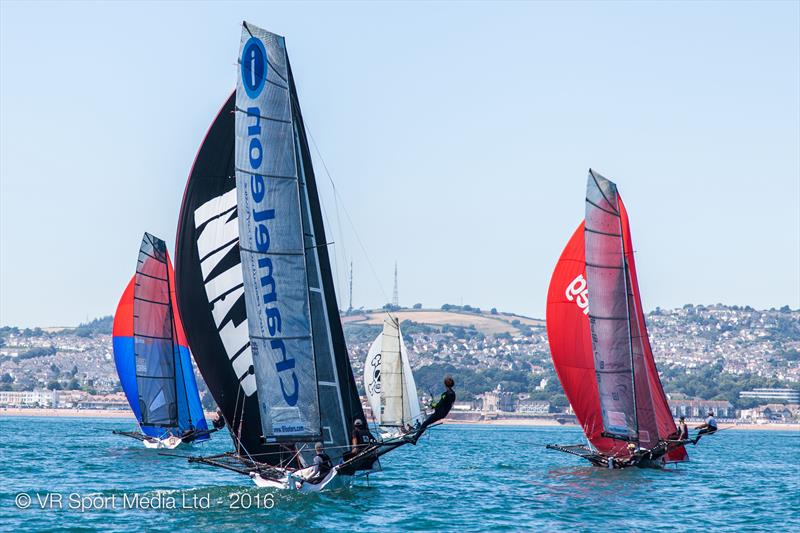 18ft Skiff Nationals at Paignton final day - photo © VR Sport Media