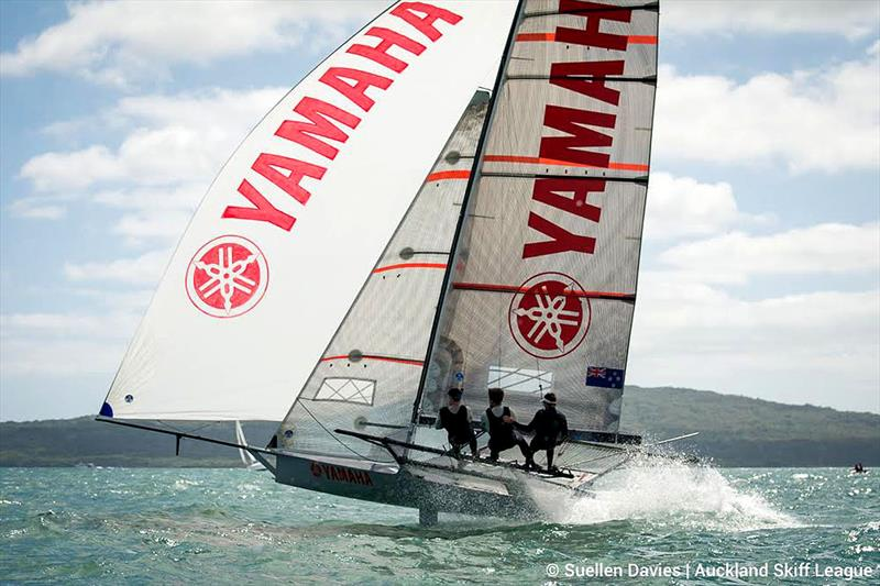 Yamaha wins the NZ 18ft Skiff Championship - photo © Frank Quealey