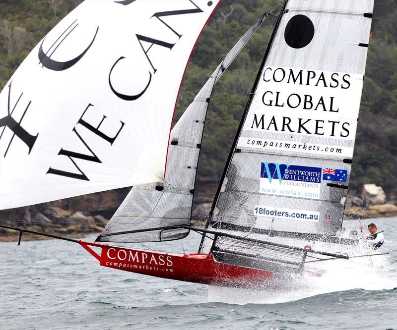 Compassmarkets.com is sure to be a consistent performer in the JJs - photo © Frank Quealey
