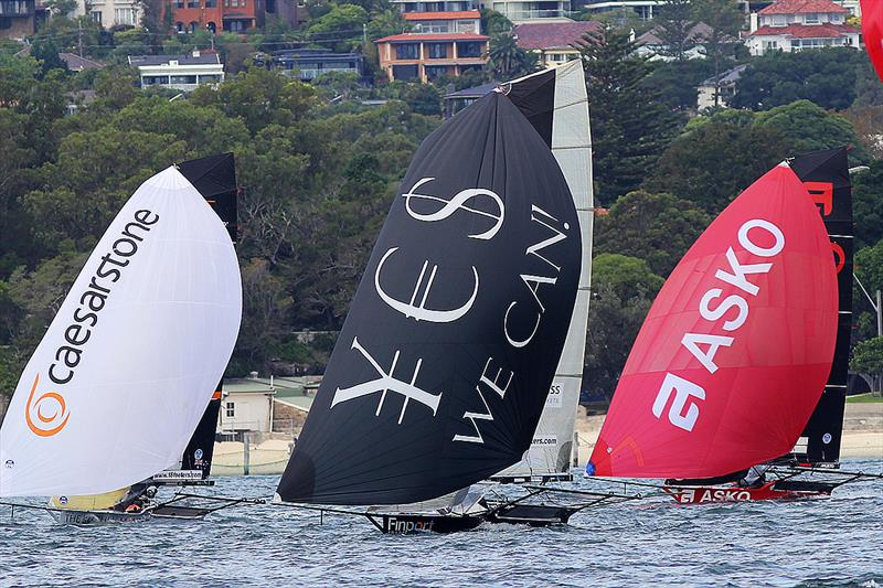 Finport Trade Finance holds Australia's hopes after 18ft Skiff JJ Giltinan Championship Race 5 - photo © Frank Quealey